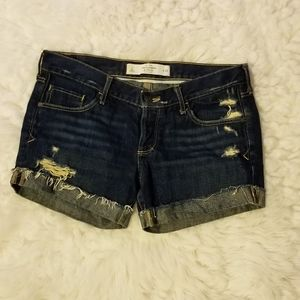 Abercrombie & Fitch jeans shorts (2)
